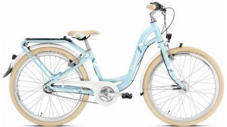 Vélo vintage 24 pouces boite 7 vitesses rétropédalage