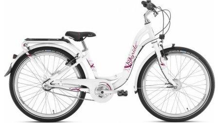 Vélo fille 24 pouces, boite 3 vitesses avec rétropédalage