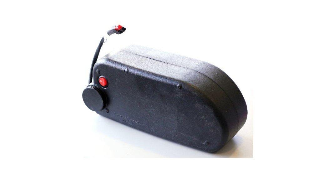 Batterie 375 Wh x 2 sur caisse de vélo porteur