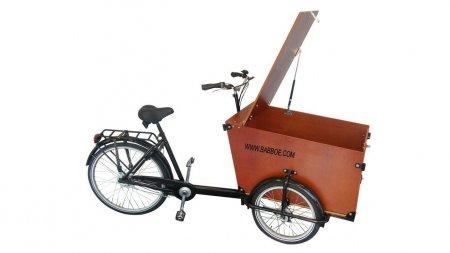 Triporteur Babboe Transporter, pour faire ses courses ou livrer à domicile