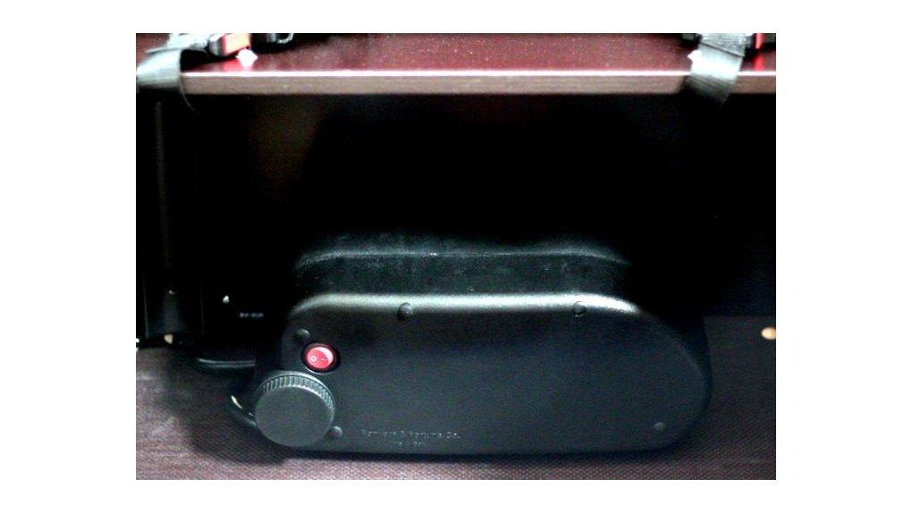 Batterie 522 Wh dans caisse de vélo porteur