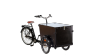 Triporteur Amsterdamer Pro avec pneumatiques confort et selle en cuir- cliquer sur Configurer pour plus d'informations
