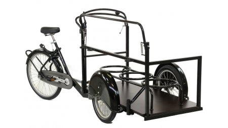 Tricycle adulte enjambement bas différenciel