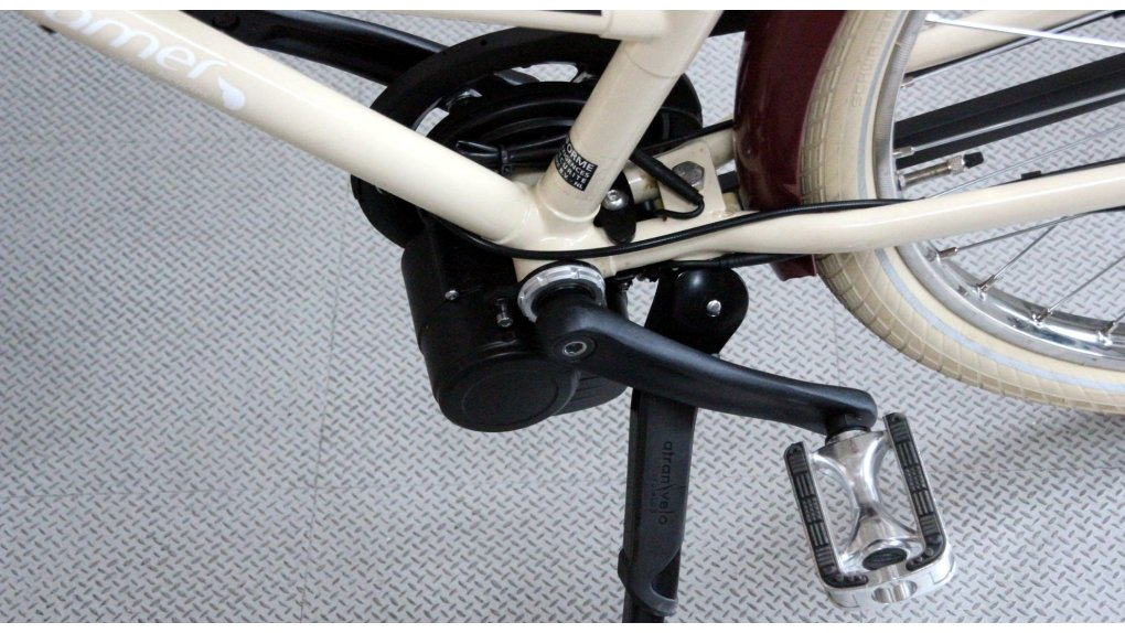Kit moteur pédalier pour vélo SANS rétropédalage