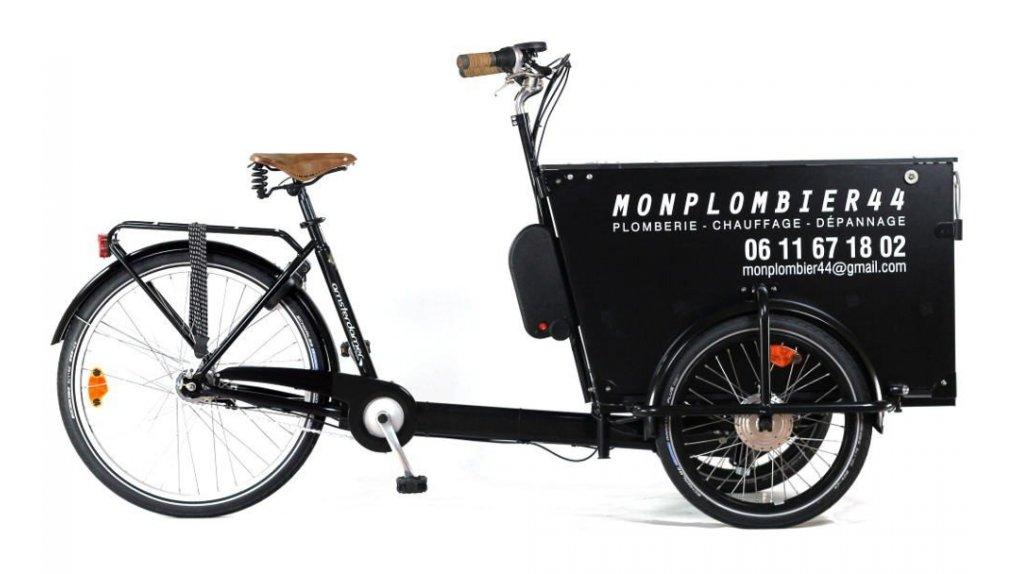 kit d 39 assistance lectrique pour triporteur avec freins avant shimano roller. Black Bedroom Furniture Sets. Home Design Ideas