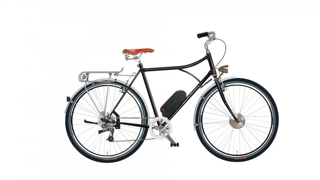 """vélo Diamond High hollandais électrique avec options. Pour plus d'informations, cliquez sur """"Configurer"""""""