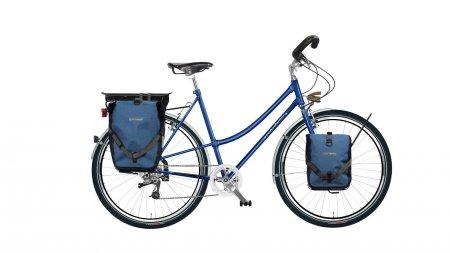 """vélo cyclotourisme femme Opal Curve avec options. Pour plus d'informations, cliquez sur """"Configurer""""."""