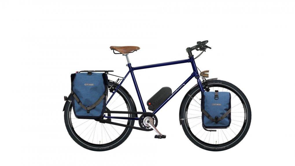 """Vélo randonneur Quartz avec options. Pour plus d'informations, cliquez sur """"Configurer""""."""