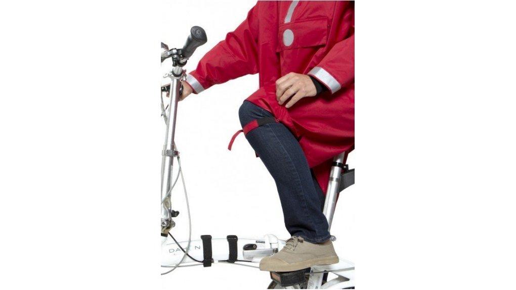 Poncho de pluie pour vélo hollandais ou pliant