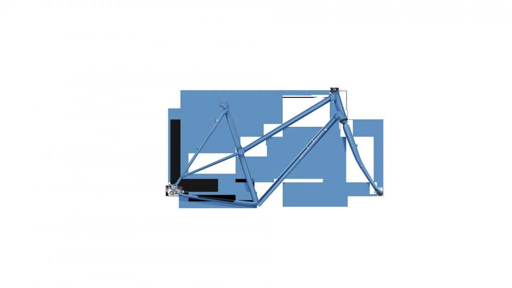 vélo cyclotourisme Opal Trapèze