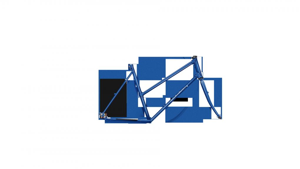 Vélo randonneur Quartz cadre Diamant