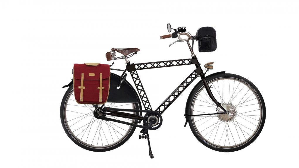 vélo électrique amsterdamer eiffel configuré