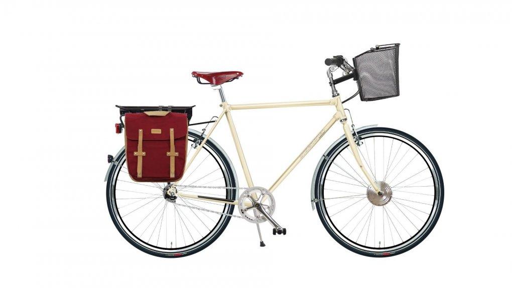 """Vélo hollandais électrique Agathe High avec options. Pour plus d'informations, cliquez sur """"Configurer"""""""