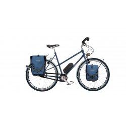 Vélo électrique grande randonnée Opal Trapèze 28 pouces