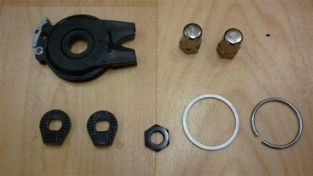 Kit raccord de cassette Nu Vinci avec extrémité câble dérailleur