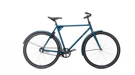 Vélo courroie pour ville et randonnée, cadre haut