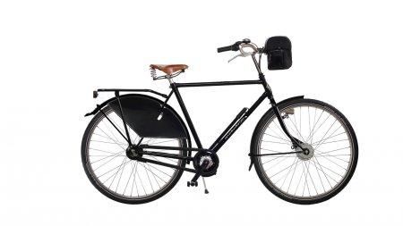Vélo électrique Park classic moteur pédalier Batterie à l'avant