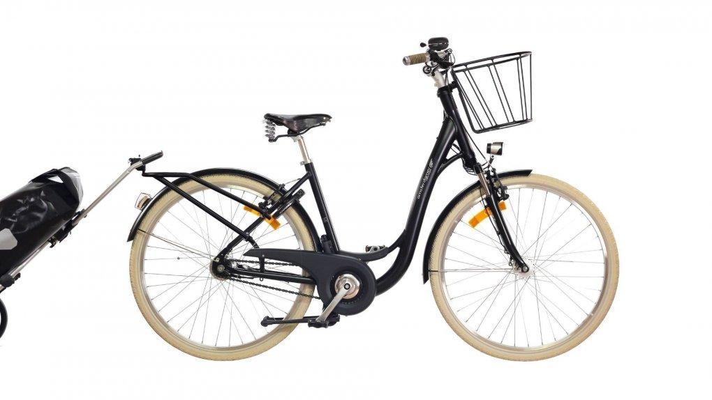 """Vélo Amsterdamer De Zwarte Fiets avec différentes options - cliquez sur """"Configurer"""" pour plus d'informations"""