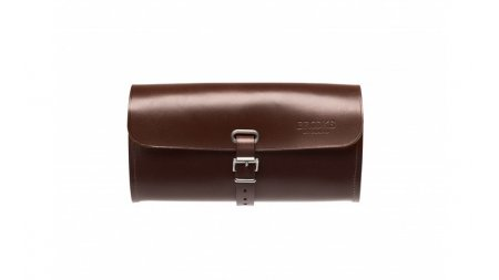Sacoche en cuir Brooks Challenge marron, taille L, pour selle ou guidon