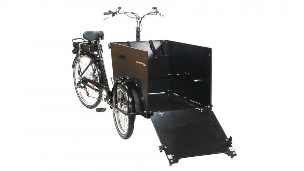 Triporteur Amsterdamer Smiley avec options - cliquez sur Configurer pour plus d'informations