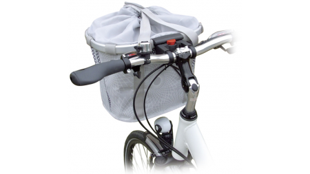 Panier de vélo à motifs géométriques Klickfix