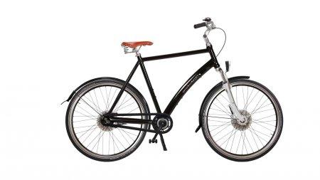 Vélo hollandais aluminium fourche suspendue Amsterdam Air Comfort cadre Diamant avec options (cliquez sur ''confiigurez'' pour p