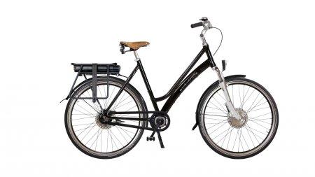 """Vélo électrique Comfort Low suspendu avec options. Pour plus d'informations, cliquez sur """"configurer"""""""