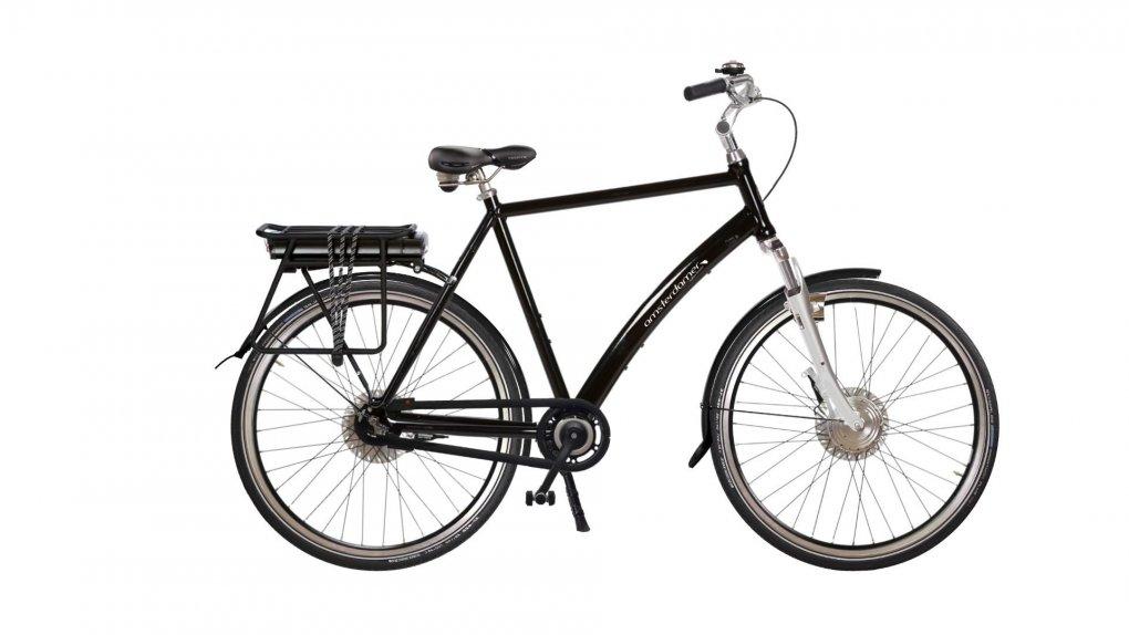 """Vélo électrique Comfort High suspendu avec options. Pour plus d'informations, cliquez sur """"configurer"""""""