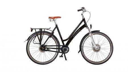 Vélo hollandais de ville avec cadre alu et fourche suspendue avec options (cliquez sur ''confiigurez'' pour plus d'informatio