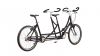 Tandem hollandais 1881 avec option sellerie cuir Brooks