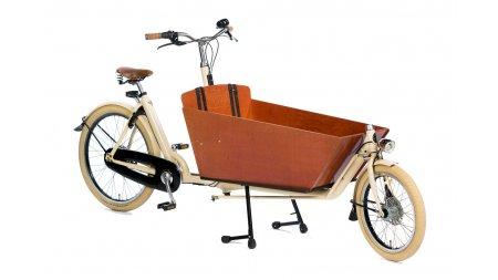 Biporteur long Bakfiets.nl Big Apple, jusqu'à 3 enfants dans le coffre