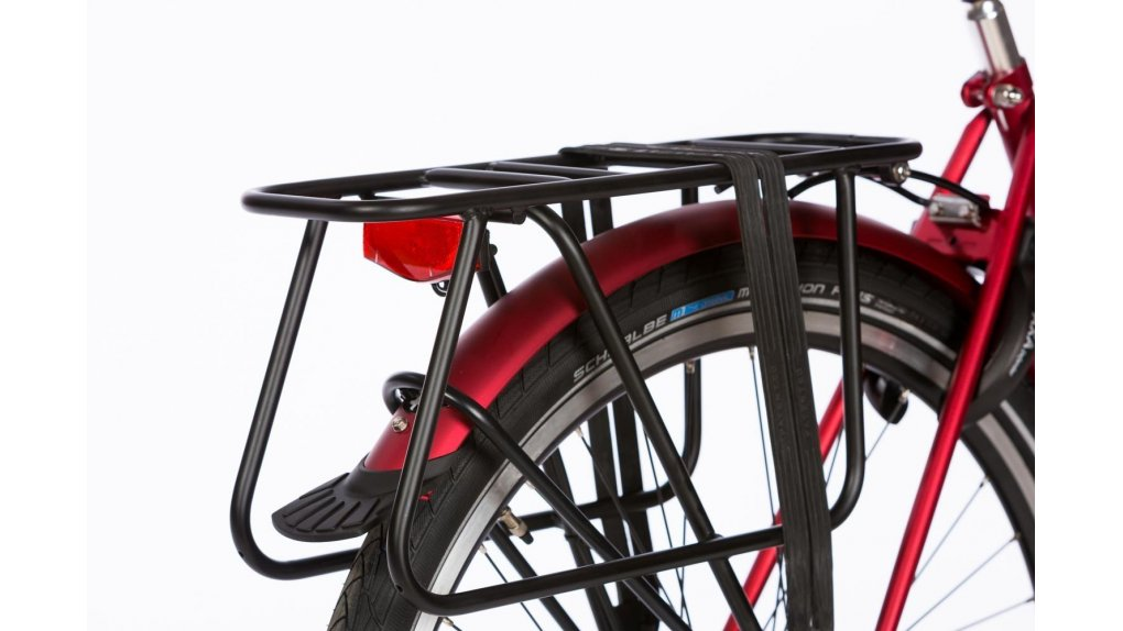 Porte-bagage long Yepp pour siège enfant, 60 Kg (noir mat)