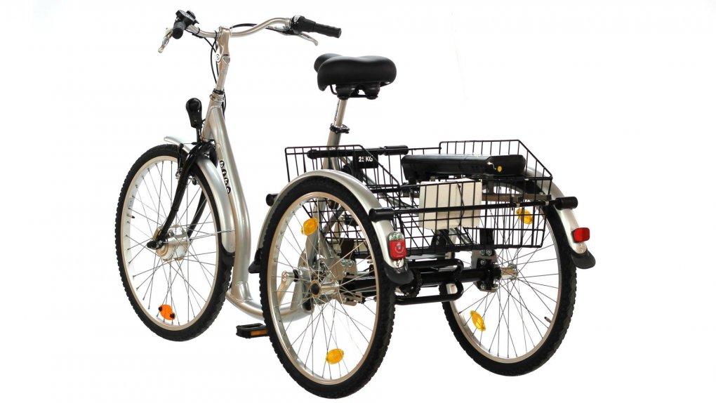 un tricycle adulte avec seuil d 39 enjambement bas et une boite nexus 7. Black Bedroom Furniture Sets. Home Design Ideas