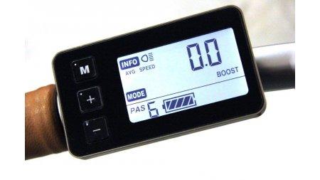 Console LCD 6 niveaux avec compteur de vitesse