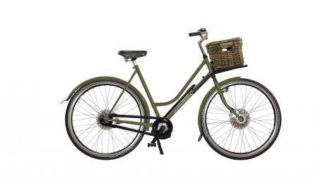Vélo Amsterdamer électrique Street Low Epure moteur pédalier