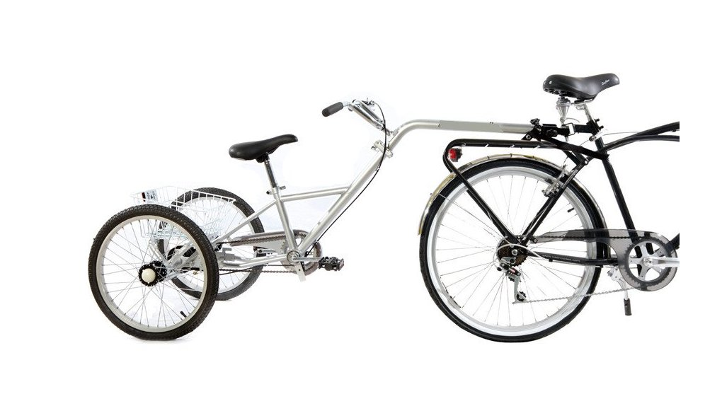 Demi-tandem tricycle