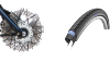 Pneus increvables MP, frein(s) 30% plus puissant