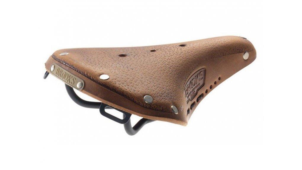Selle Brooks B17 en cuir pré-rodée, confort immédiat