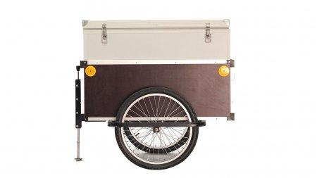 Remorque de vélo avec caisse isotherme 180 litres