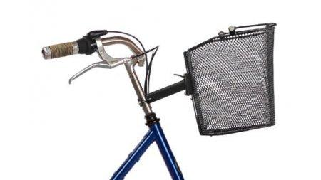 Panier de vélo avant amovible en métal