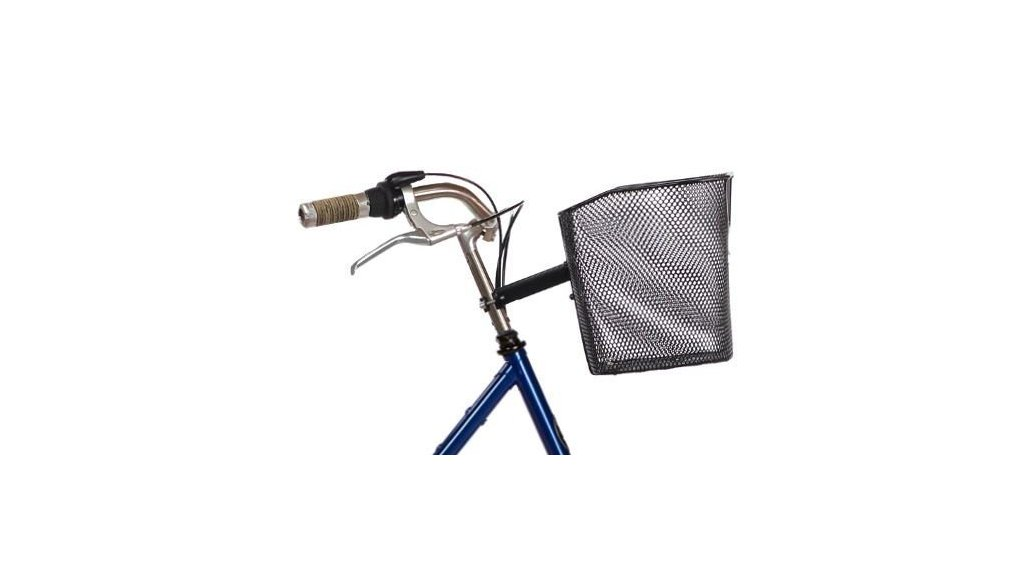 Panier de vélo avant fixe en métal