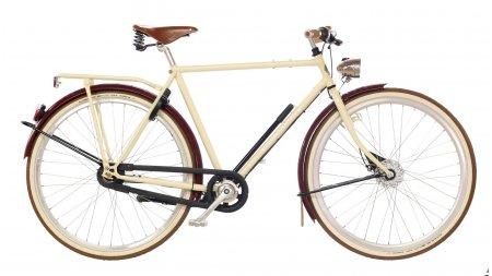 Vélo unique Amsterdamer Opa Crème & Cassis