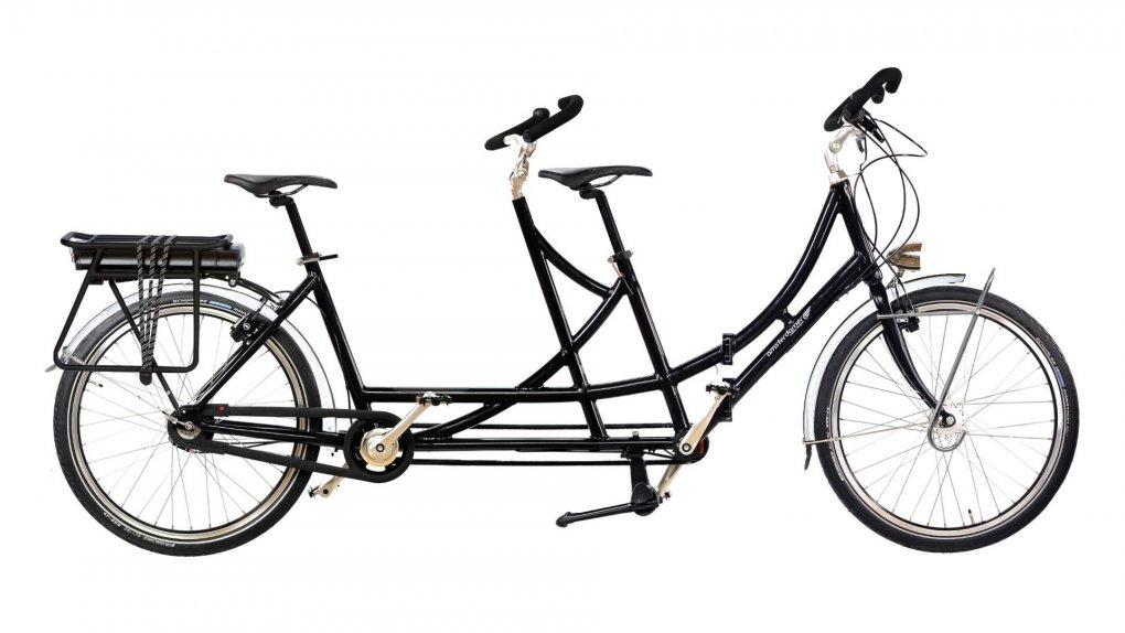 Configurateur du tandem électrique Cyclotourisme pliant Amsterdamer