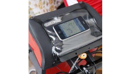 Pochette pour Smartphone transparente étanche pour sacoche de guidon Ortlieb Ultimate