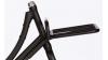 Porte-bagage avant pick-up noir brillant pour vélo Classic
