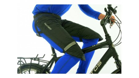 Protection du cycliste, sur-pantalon Rainlegs noir