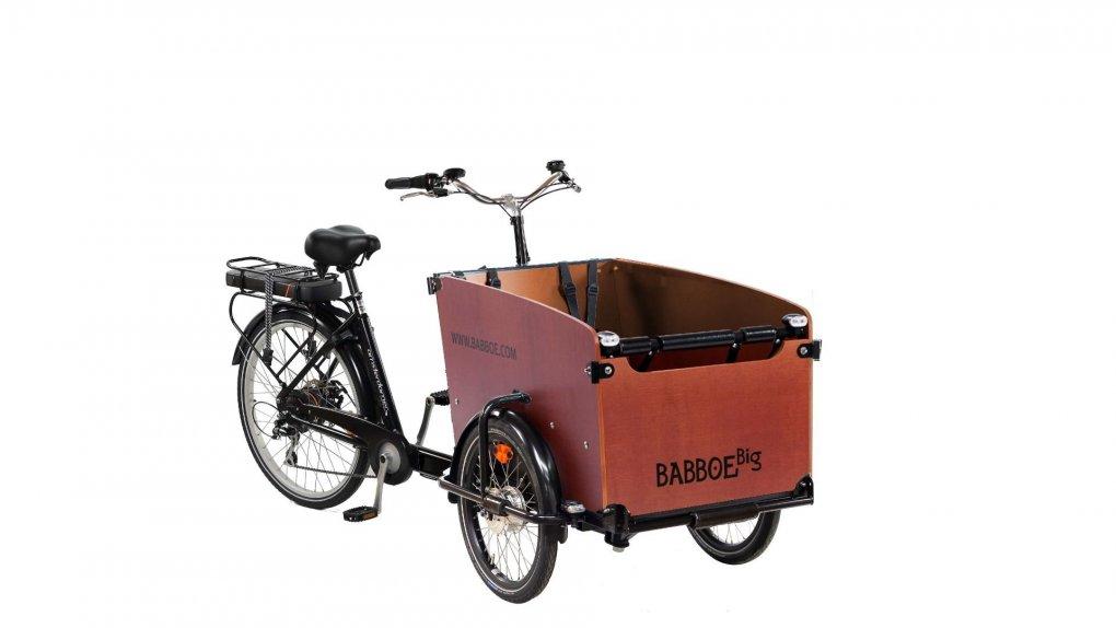 Configurateur triporteur électrique Babboe Big