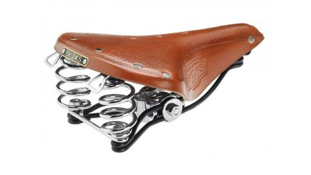 Selle Brooks B66S miel,version courte
