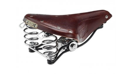 Selle Brooks B66S marron,version courte