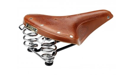 Selle Brooks B67S miel,version courte